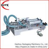 Double électrique pneumatique/célibataires chefs de liquide de remplissage de la machine de remplissage
