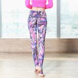L'yoga su ordinazione ansima i pantaloni all'ingrosso di compressione delle donne dei vestiti di forma fisica delle ghette