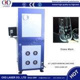 cosmético de cristal dos vidros de 355nm Sun que empacota a máquina UV da marcação do laser