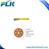 FTTX крытый миниый пролома кабель оптического волокна вне (сердечник 36-144)