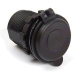 Allumeur imperméable à l'eau de cigarette d'USB de véhicule de cigarette d'allumeur de plot de C.C 12V 24V de chargeur de sortie duelle d'adaptateur d'alimentation pour la moto