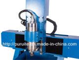 Le métal cuivre aluminium CNC Router Machine de gravure