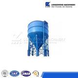 Sistema di trattamento delle acque di rifiuto con la centrifuga d'asciugamento del fango