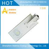 15W 110-120 lm/W LED calle la luz solar con Ce/EMC/Certificación RoHS