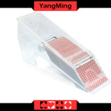 Transparência cheia/o negociante acrílico 1 - 8 cartões de jogo do póquer da plataforma calç Ym - Ds04