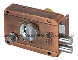 Segurança de porta de bloqueio da RIM com botões e teclas cruzada