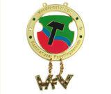 昇進は与えるカスタムロゴ(YB-MD-49)のメダルを
