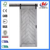 Puerta de granero doble moldeada HDF de los materiales de la decoración (JHK-SK01)