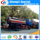 Dongfeng 15m3 12mtの給油車のオイルタンクのトラックの燃料の配達用トラック販売のためのディーゼルタンクトラック