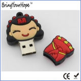 Movimentação do flash do USB do noivo da noiva do casamento de China (XH-USB-143)