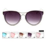 Sem quantidade mínima de raios UV400 Pronto Fêmea de moda óculos de sol de estoque (HFF0046)