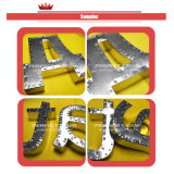 Machine à cintrer bridante de découpage en métal 3D de la Manche de signes multifonctionnels de lettre