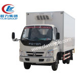 4*2 LHD Rhd 8 toneladas de caminhão refrigerando do refrigerador da carne do alimento