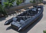 boot van de Snelheid van de Glasvezel van de Boot van de Rib van 8.3m de Militaire Stijve Opblaasbare
