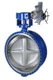 압축 공기를 넣은 액추에이터를 가진 통제를 위한 청동, 던지기 스테인리스 또는 철 러그 나비 벨브