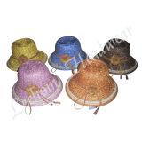 Chapeau de position de paille de chapeau feutré d'été de mode (LB14030)