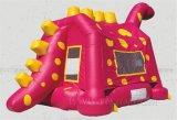 城の恐竜を跳ねる、膨脹可能なMoonwalks (B1130)
