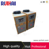 최상 3HP 의학 가공 필드 산업 냉각장치를 위한 공기에 의하여 냉각되는 냉각장치 8.39kw/2.5ton 냉각 수용량 7216kcal/H