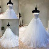 Venda por grosso de bola acetinado Beca Suite vestidos vestido de casamento