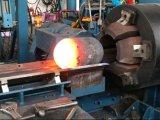 Cilindro metálico máquina girando a quente