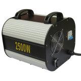 O xénon 2500W claro do disco segue a luz do ponto