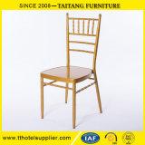 Стул Chiavari металла ясный для стула Dinning стула Тиффани случая венчания гостиницы Stackable