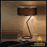 Luz de escritorio de acero con tela Sombra (6904-3B)