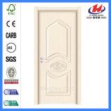 Porte contemporaine intérieure de mélamine de portes intérieures de panneau de portes de Chambre (JHK-MD12)