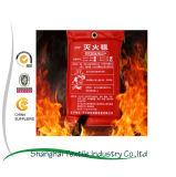 Supermercado de extinción de incendios la seguridad contra incendios con manta de rescate de incendios 1.2*1.2m