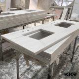 """Kkrのコマーシャル72の""""虚栄心の流しの人工的な水晶石の浴室のカウンタートップ"""