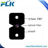 2 coeurs à l'intérieur plat à fibre optique Câble de dérivation pour la communication