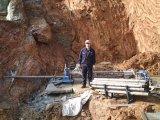 화강암 광업을%s 구멍 교련 기계의 아래