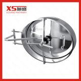 """24 """"de aço inoxidável de forma redonda pressão do tanque manway porta com vidro de visão"""