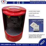 Машина маркировки лазера ключа шестерни карточки приглашения загерметизированная сердечником миниая