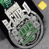 Preiswertes Qualitäts-kundenspezifisches Decklack-Metalllaufende Sport-Preis-Medaillen-Fabrik