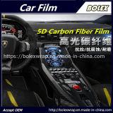 Involucro automatico dell'automobile del vinile della fibra del carbonio dell'involucro 5D del corpo