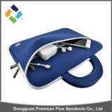 Boa qualidade Neoprene Custom Made Computer Laptop Sleeve Bag / Laptop Laptop Neoprene Carrying Sleeve Case Bag com bolso para Apple MacBook, DELL XPS