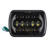 Più nuovi 5 fari massimi minimi del fascio LED di rettangolo di pollice di 6X7 '' x7 '' per il Wrangler Yj Xj cherokee H6054 H5054 della jeep