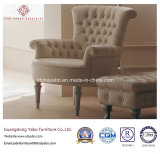 Mobilia dell'hotel con la presidenza di svago del salone con l'ottomano (YB-C402)