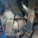 Cinta tejida basalto incombustible resistente de alta temperatura