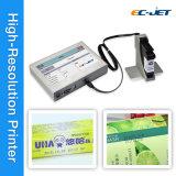 Máquina de impresión de códigos de barras para la marca de verificación de Alta Resolución (ECH700).