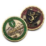 Monete commemorative religiose del doppio drago placcate professionista poco costoso di promozione