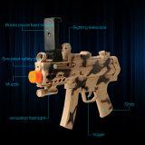 2017 최신 Ar는 전화를 위한 Bluetooth를 가진 3D 총격사건 게임을%s 가진 플라스틱 Ar 게임 장난감 전자총을 총으로 쏜다