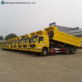 우간다에 Sinotruk HOWO 8X4 팁 주는 사람 트럭 수출