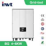 4 Kwatt-6kwatt invité trois phase Grid-Tied Solar Power Inverter