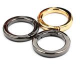 Hot Sale Alliage de zinc métal Anneau rond pour sac de pièces de boucle la boucle de ceinture de chaussures en cuir Accessoires (YK882)