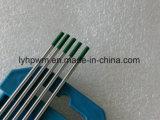 Recuit Wolfram électrode de tungstène pur Noir/tige électrode de tungstène Thoriated WT20