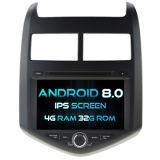 Witson Acht Androïde 8.0 Auto van de Kern DVD voor Chevrolet Aveo/het Sonische 2011-2014 4G IPS van ROM van het Scherm van de Aanraking van ROM 1080P 32GB Scherm