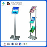 Алюминиевая система рекламируя изображение рекламируя рамку кнопки стойки индикации