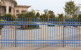 우아한 장식적인 안전 주거 직류 전기를 통한 강철 정원 담 60-2